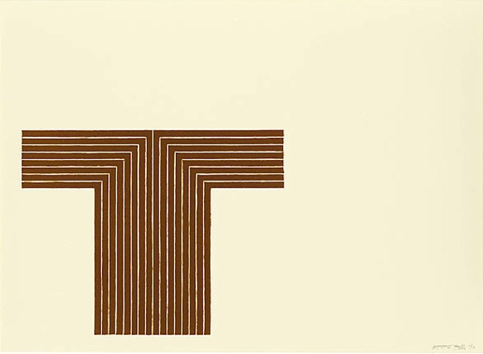 Frank Stella,     Telluride, from Copper Series,     1970